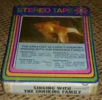new SEALED 8 track tape ALBUM singing country music with the Enniking Family OLD