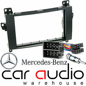 Mercedes Benz Sprinter W906 Car Stereo Double Din Fascia & Fitting Kit DFP-23-04