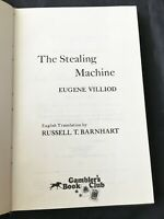 THE STEALING MACHINE 1976 FIRST AMERICAN EDITION HARDCOVER EUGENE VILLIOD CHEAT