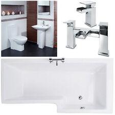 Shower Bath Bathroom Suites with Taps