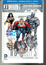JLA EARTH 2 THE DELUXE Edition Hardcover Grant Morrison & Frank Quiety Comics HC