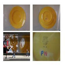 Assiette faïence monochrome LONGCHAMP Art Déco 1950 Design XXe PN France N115