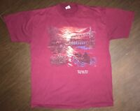 Vintage Mens Wisconsin T Shirt Size Large Made In USA