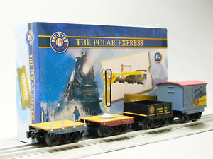 LIONEL THE POLAR EXPRESS ELF WORK TRAIN CARS O GAUGE rolling stock 2026680 NEW