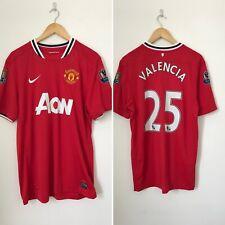 Size Large Manchester United 2011 2012 Valencia Home Shirt Nike Premier Badge W1