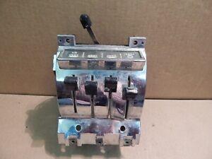 OEM 1957 Chevrolet Bel Air Factory OEM Deluxe Heater Control