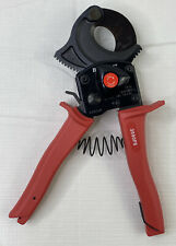 HK Porter 3590FS Ratchet-type One Hand Operated Soft Cable Cutter