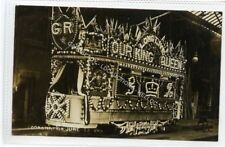 (Ld8234-473) Illuminated Car, Coronation 1911  LEEDS,  Unused G-VG