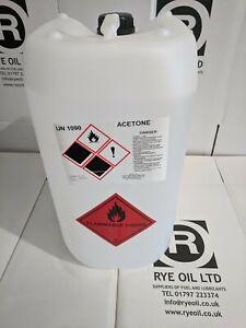 Acetone 25 Litre 25l Solvent & Cleaner. Nail Polish Remover (not 20 Litre)