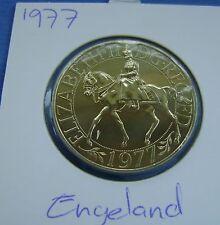 Verenigd Koninkrijk United Kingdom 1 CROWN 1977 JUBILEE COMMEMORATIVE COIN - UNC