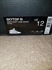 Supra skytop 3 Sole Box! brand new sz.12! AND sz. 8!!