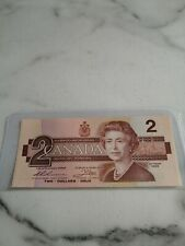 1986, $2 dollars -2 x Consecutive Notes -Canada, Replacement, CH-UNC, BC-5bA-i