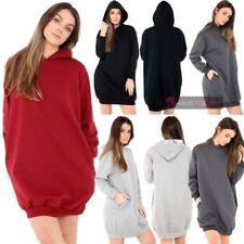 Markenlose M Damen-Kapuzenpullover & -Sweats mit Kapuze