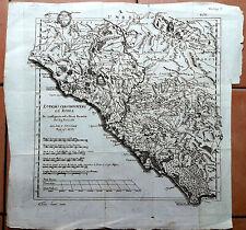 Terracina Circeo Lazio Dintorni di Roma - Rollin - Acquaforte II metà '700