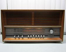 Vintage Grundig RF160 Stereo Tube Radio West Germany * Rare * Large Tabletop