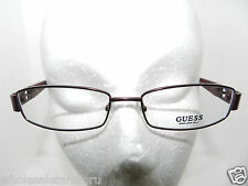 NEW WITH CASE GUESS WOMENS RED EYEGLASS GLASSES FRAME GU 1606 RD 53-17-135 RX