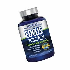 Focus Factor Nutrition for the Brain - Memory Concentration & Focus - DMAE B6...
