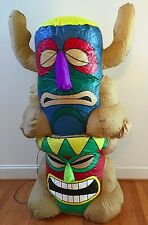 Inflatable 4 Foot Tiki Totem Pole Statue Decoration Party Decor by Gemmy