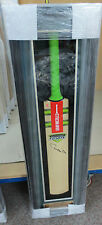 Matthew Hayden hand signed Gray Nicolls cricket bat - framed + COA / proof