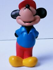 New listing Mickey Mouse Disney Toy Figure Rubber Squeeze