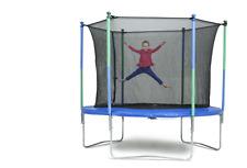 trampoline outdoor with enclosure