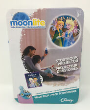 Moonlite Storybook Projector Value Pack Disney Frozen Elsa's Gift New
