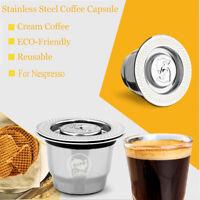 Rechargeable Filtre Capsule Panier filtrant Cafe capsule For Nespresso