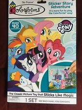 My Little Pony Colorforms Picture Sticker Story Adventure Toy Activity Set