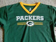 Green Bay Packers boys 14/16 green shirt