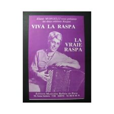 Viva la Raspa La Vraie Raspa Accordéon partition sheet music score