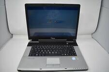 Silver Amilo Fujitsu Siemens Laptop Windows XP Home Edition