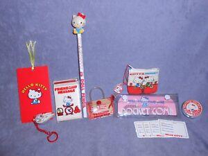 Vintage 1970s Sanrio Hello Kitty Box Lot / Much unused, some used. RARE Amazing!