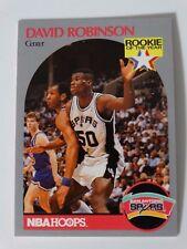 1990-91 Hoops #270 David Robinson San Antonio Spurs Rookie RC Basketball Card