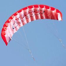 1.4 m double ligne Stunt Sports Beach Power parachute de puissance SAIL/Surf Cerf-volant rouge