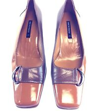 Bruno Magli Women's Shoes Size 7B Olive Brown Pumps Heels  Leather Italy