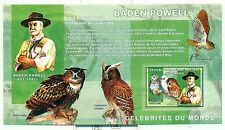 SCOUTISME & HIBOUX - SCOUTING & OWLS  CONGO 2006 Baden Powell block perforated