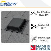 Manthorpe Alpha Slate Vent | GRSV30/25 | Roof Vent | 600mm x 300mm | Black