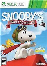 ** BRAND NEW ** THE PEANUTS MOVIE - SNOOPY'S GRAND ADVENTURE - XBOX 360