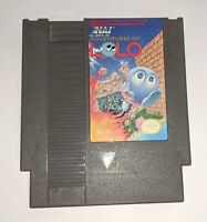 Adventures of Lolo Nintendo NES Tested & Working Ships Free
