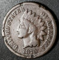 1870 INDIAN HEAD CENT - VG VERY GOOD Details