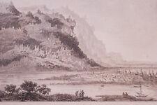 RUSSIE IAKOUTSK  GRAVURE SUR ACIER 1838 РОССИЯ PRINT