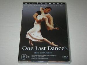 One Last Dance - Patrick Swayze - Brand New & Sealed - Region 4 - DVD