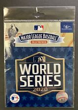 2020 World Series MLB Official Licensed Collectors Patch