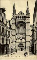 Lisieux CPA ~1910/20 Cathédrale St. Pierre Portail Sud Süd Portal der Kathedrale