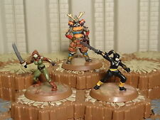 Heroes of the Molten Sea - Moriko- Kato Katsuro- Otonashi - Heroscape - Wave 8