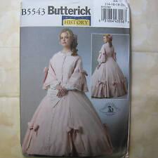 Butterick 5543 Civil War Era Gown Costume Pattern 14-20