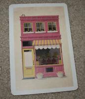 """DKNG Beauty Shop Art Postcard Handbill 4 X 6"""" like silkscreen poster print"""