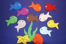 """10 Little Fish"" Children story felt/ flannel board set"