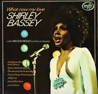 SHIRLEY BASSEY/NELSON RIDDLE ORCHESTRA what now my love MFP 5230 uk LP PS EX/EX