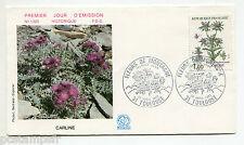 FRANCE FDC 1° jour , 1983, timbre 2266, FLEURS, CARLINE, FLORE